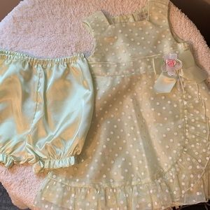 George dress with bloomers for 24 months